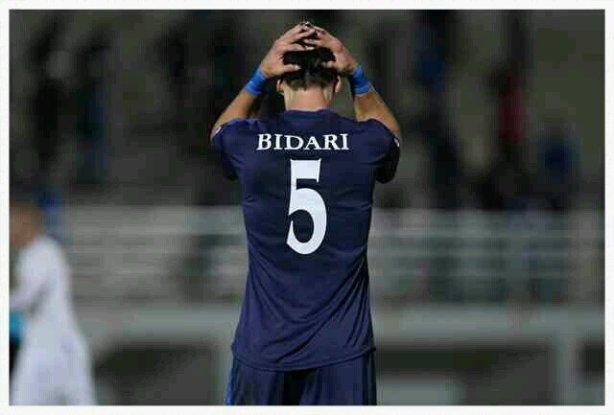 Bidari, en uno de sus últimos partidos con el Ethnikos.